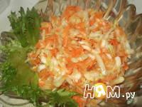 Приготовление салата Зима на пороге: шаг 3