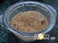 Приготовление морковно-орехового пирожного с кремом: шаг 3