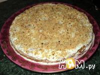 Приготовление морковно-орехового пирожного с кремом: шаг 10