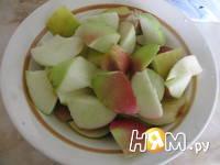 Приготовление утки с яблоками: шаг 2