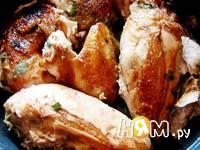 Приготовление запеченной курицы Осенняя рапсодия: шаг 8