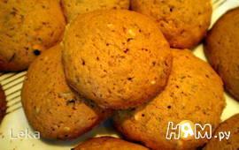 Печенье с тыквой, имбирем и орешками