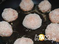 Приготовление тефтелей из семги  в томатном сойсе: шаг 5