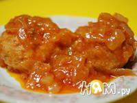 Приготовление тефтелей из семги  в томатном сойсе: шаг 11