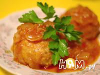 Приготовление тефтелей из семги  в томатном сойсе: шаг 12