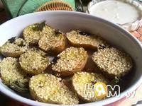Приготовление  картошки с кунжутом и соусом: шаг 8