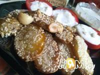 Приготовление  картошки с кунжутом и соусом: шаг 9