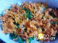 Приготовление салата с куриной печенью: шаг 12