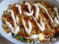 Приготовление салата с куриной печенью: шаг 13