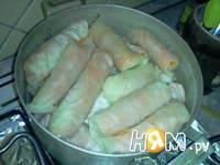Приготовление голубцов с морковкой по-корейски: шаг 8