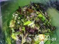 Приготовление соуса из базилика и рукколы: шаг 4