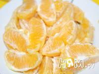 Приготовление мандаринового торта: шаг 1