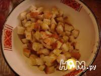 Приготовление салата Цезарь с креветками: шаг 7