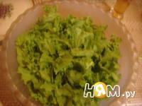 Приготовление салата Цезарь с креветками: шаг 11