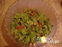 Приготовление салата Цезарь с креветками: шаг 14