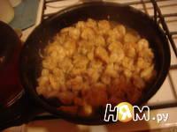 Приготовление салата Цезарь с креветками: шаг 15