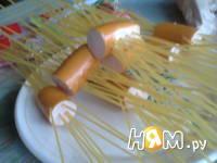 Приготовление спагетти с соусом: шаг 1