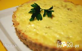 Куриное лукошко с картофелем под сыром