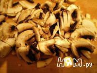 Приготовление куриных грудок, фаршированных грибами: шаг 2
