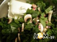 Приготовление куриных грудок, фаршированных грибами: шаг 4