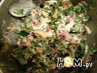 Приготовление куриных грудок, фаршированных грибами: шаг 5