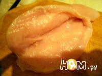 Приготовление куриных грудок, фаршированных грибами: шаг 6