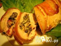 Приготовление куриных грудок, фаршированных грибами: шаг 10