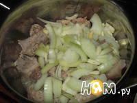 Приготовление поджарки свиной : шаг 2