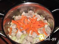 Приготовление поджарки свиной : шаг 3