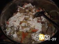 Приготовление поджарки свиной : шаг 4