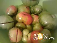 Приготовление помидоров соленых: шаг 1