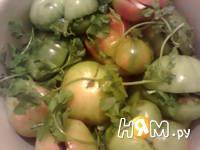 Приготовление помидоров соленых: шаг 6
