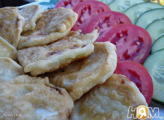 Рецепт Кабачки в кляре