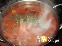 Приготовление супа томатного по-итальянски: шаг 7
