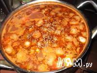Приготовление супа томатного по-итальянски: шаг 8