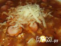 Приготовление супа томатного по-итальянски: шаг 10