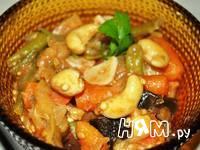 Приготовление рагу с кешью и мини-морковью: шаг 5