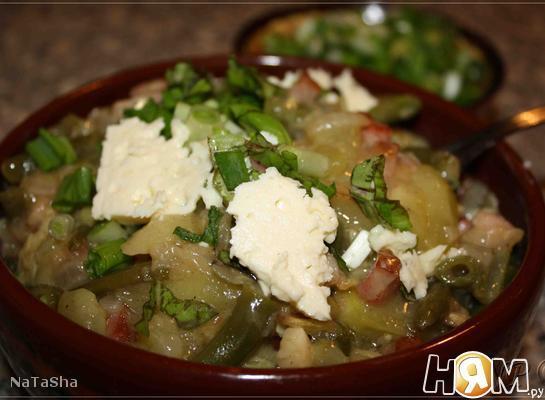 Рецепт Кабачки по-кубански