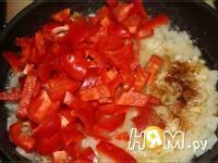 Приготовление паприкаша с красным перцем: шаг 3