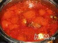 Приготовление паприкаша с красным перцем: шаг 5