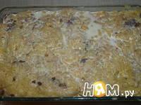 Приготовление запеканки из картофеля с мясным фаршем: шаг 7