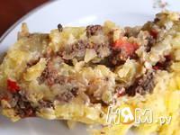 Приготовление запеканки из картофеля с мясным фаршем: шаг 8