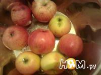 Приготовление компота из яблок: шаг 1