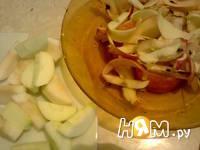 Приготовление компота из яблок: шаг 3