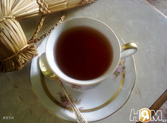 Чай с яблочной кожурой