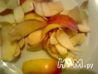 Приготовление чай с яблочной кожурой: шаг 1