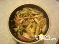 Приготовление чай с яблочной кожурой: шаг 4