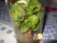 Приготовление безалкогольного мохито: шаг 2