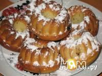 Приготовление кексов на ряженке: шаг 5