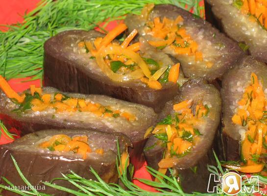 Рецепт Баклажаны закусочные
